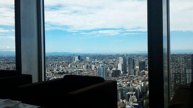 パークハイアット東京 41階からの景色