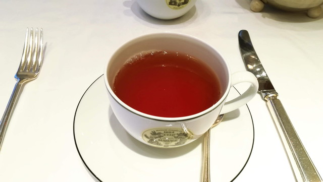 紅茶 ローズカメリア