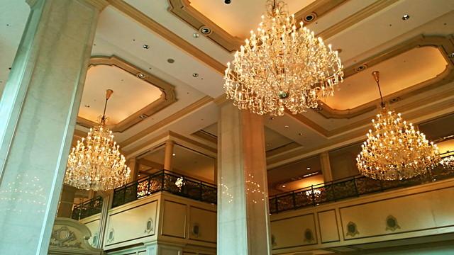 リーがロイヤルホテル シャンデリア