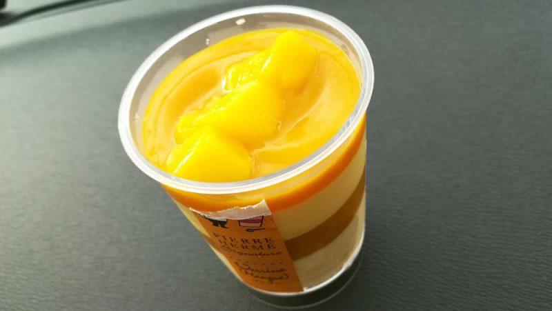 ピエール・エルメシグネチャー カップケーキ マンゴー