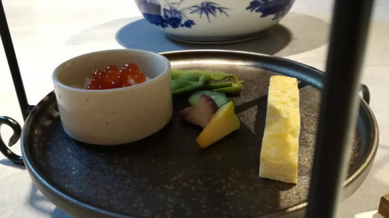ミレニアム 三井ガーデンホテル 東京 現代里山料理 ZEN HOUSE アフタヌーンティー 三段目スイーツ