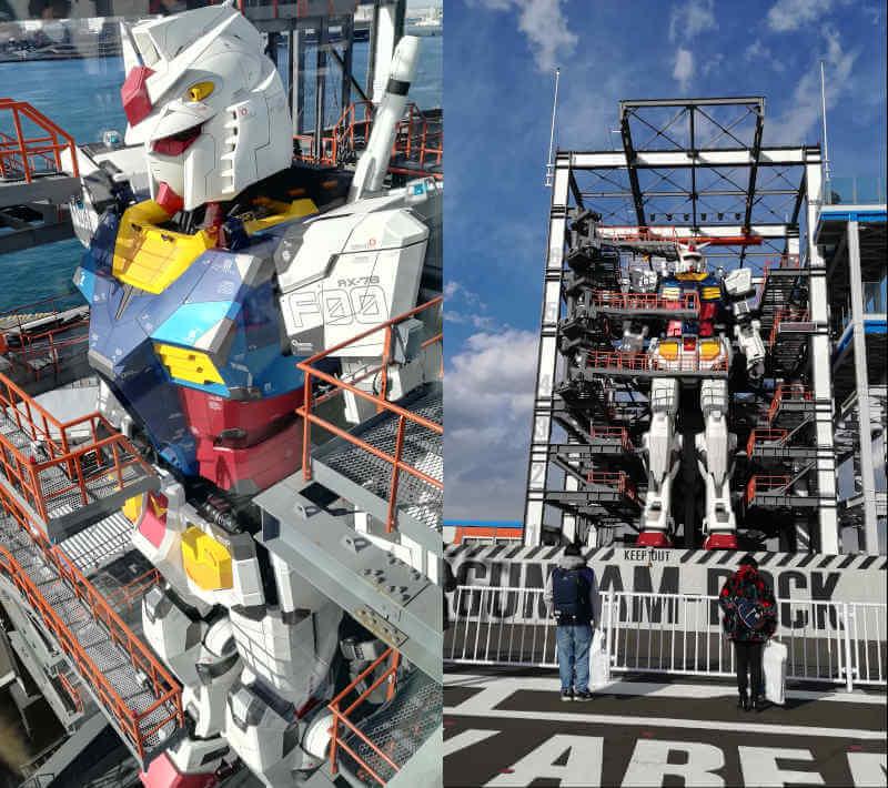 ガンダムファクトリー横浜 RX-78F00 横浜ガンダム全体写真