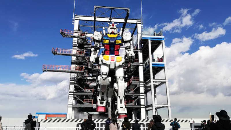 ガンダムファクトリー横浜 RX-78F00横浜ガンダムが動く!