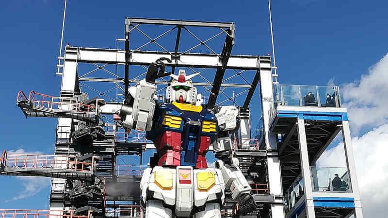 ガンダムファクトリー横浜 RX-78F00 横浜ガンダム再起動