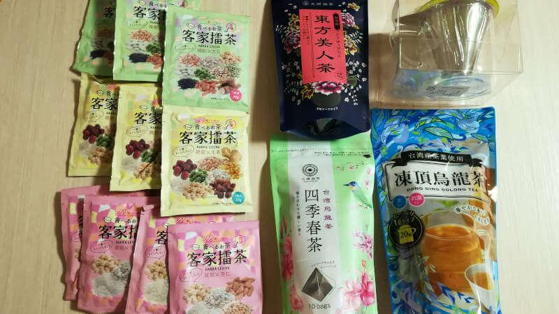 台湾茶の久順銘茶 2021年福袋 内容