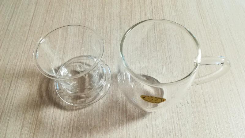 2021年 フルーティア福袋 ガラス製マグカップ