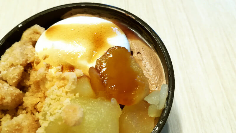 ファミリーマート×グラニースミス アップルコブラー りんご&カスタード&チョコレート チョコクリーム