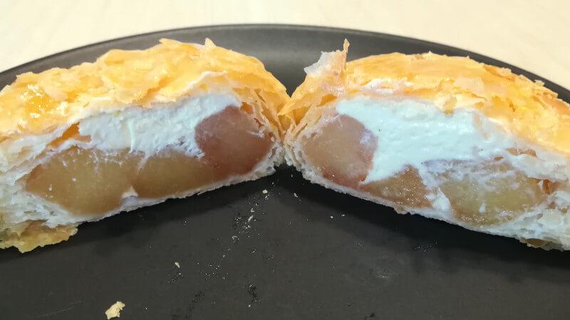 ローソン冷凍食品 新メニュー アップルパイ